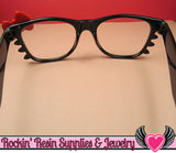 Fashion Bow Cat Eye Glasses for Decoden - Rockin Resin  - 3