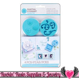 Decorative Design Martha Stewart SILICONE MOLDS Picture Frame, Flourish, Stars, & Medallions - Rockin Resin  - 2