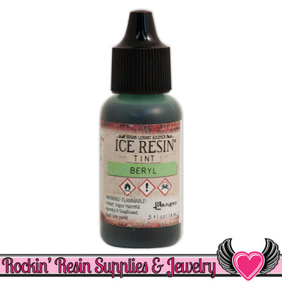 ICE RESIN TINTS Beryl Green, 0.5 fl. oz. resin colorant