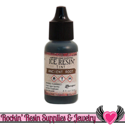 ICE RESIN TINTS Ancient Root Brown, 0.5 fl. oz. resin colorant