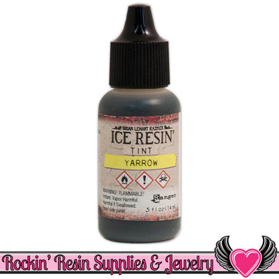ICE RESIN TINTS Yarrow Yellow, 0.5 fl. oz. resin colorant