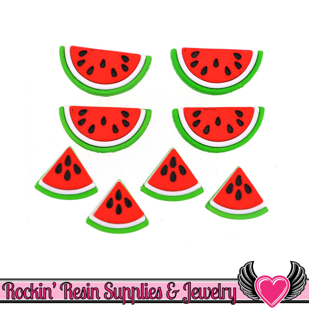 Jesse James Buttons 8 pc WATERMELON Buttons