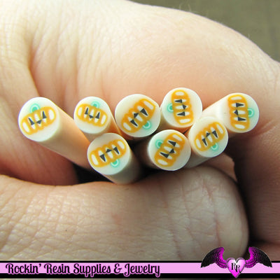 JACKOLATERN PUMPKIN Halloween Polymer Clay Cane for Nail Art Decoden Kawaii DIY - Rockin Resin  - 1