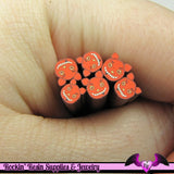 RED DEVIL Halloween Polymer Clay Cane for Nail Art Decoden Kawaii DIY - Rockin Resin  - 1