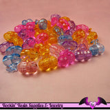 15 pcs Faceted CHERRIES Mixed Kitsch Acrylic Beads or Buttons 21 x 20 mm - Rockin Resin  - 2