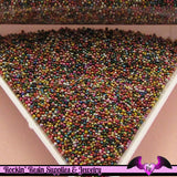 Micro Marbles WARM MIX  Half Ounce / 14 grams caviar microbead miniature kawaii fake sprinkles - Rockin Resin  - 1