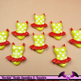 4 pcs BATHING SUIT Swimming Resin Decoden Flatback Kawaii Cabochons 26x22mm - Rockin Resin  - 2
