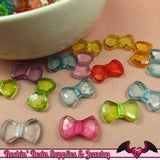 50 pc Small Acrylic BOW Beads 16x9mm - Rockin Resin  - 2