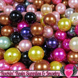 Grade B 10 HUGE PEARL Beads 30mm Imitation Pearls - Rockin Resin  - 2