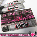 E-6000 Jewelry and Craft Adhesive 5.3 mL / .18 oz Small Tubes Professional Craft Glue - Rockin Resin  - 2
