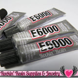 E-6000 Jewelry and Craft Adhesive 5.3 mL / .18 oz Small Tubes Professional Craft Glue - Rockin Resin  - 3