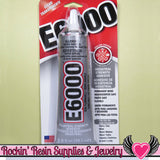 E-6000 Jewelry and Craft Adhesive 2oz Large Tube E6000 Professional Craft Glue - Rockin Resin  - 2