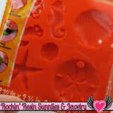 Mod Podge Mod Melts SEA LiFE SILICONE MOLD - Rockin Resin  - 3
