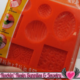Mod Podge Mod Melts PATTERNS SILICONE MOLD - Rockin Resin  - 3