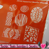 Mod Podge Mod Melts PATTERNS SILICONE MOLD - Rockin Resin  - 1
