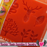 Mod Podge Mod Melts MYSTiCAL FOREST SILICONE MOLD - Rockin Resin  - 3