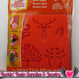 Mod Podge Mod Melts MYSTiCAL FOREST SILICONE MOLD - Rockin Resin  - 1