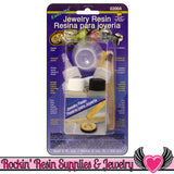 JEWELRY RESIN KiT Envirotex 2 oz. / 59 mL High Doming UV Resistant Waterproof Epoxy Resin - Rockin Resin