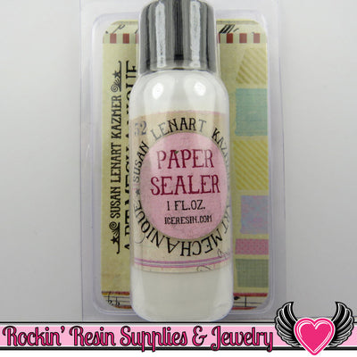 Ice Resin PAPER SEALER by Susan Lenart Kazmer - Rockin Resin