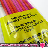 10 DETAIL PAINT BRUSHES by Plaid Mod Podge - Rockin Resin  - 2