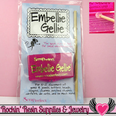 Embellie Gellie Pick up & Placement Tool for Rhinestones, Half Pearls, & More - Rockin Resin