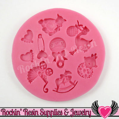 BABY SILICONE MOLD Food Grade - Rockin Resin  - 1