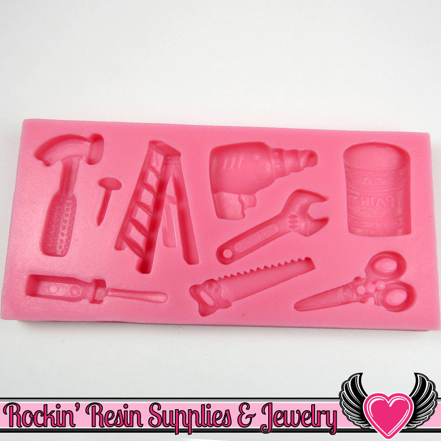 DIY Hardware Tools SILICONE MOLD Food Grade - Rockin Resin  - 1