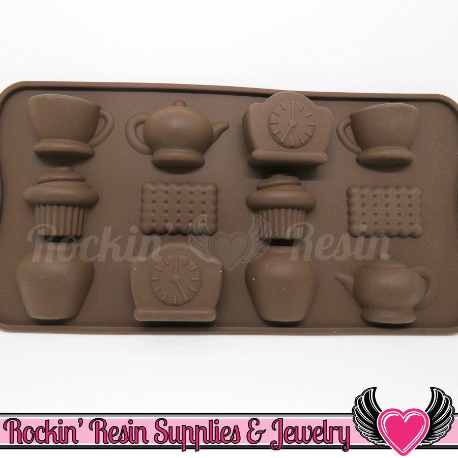 Tea / Cupcake SILICONE MOLD, Food Grade - Rockin Resin  - 1