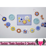 Graceful Bloom Martha Stewart SILICONE MOLD Flowers and Leaves - Rockin Resin  - 3