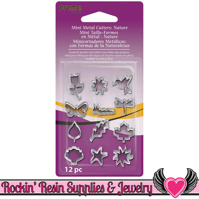 Sculpey Premo 12 Nature MINI CUTTERS - Rockin Resin