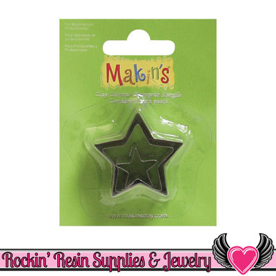 Makin's 3 piece STAR COOKIE CUTTERS - Rockin Resin