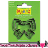 Makin's 3 piece BOW COOKIE CUTTERS - Rockin Resin