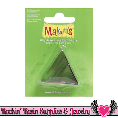 Makin's 3 piece TRIANGLE COOKIE CUTTERS - Rockin Resin