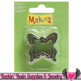 Makin's 3 piece BUTTERFLY COOKIE CUTTERS - Rockin Resin