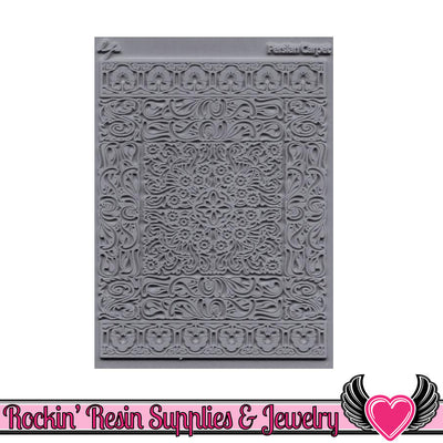Persian Carpet Lisa Pavelka Texture Stamp - Rockin Resin  - 1