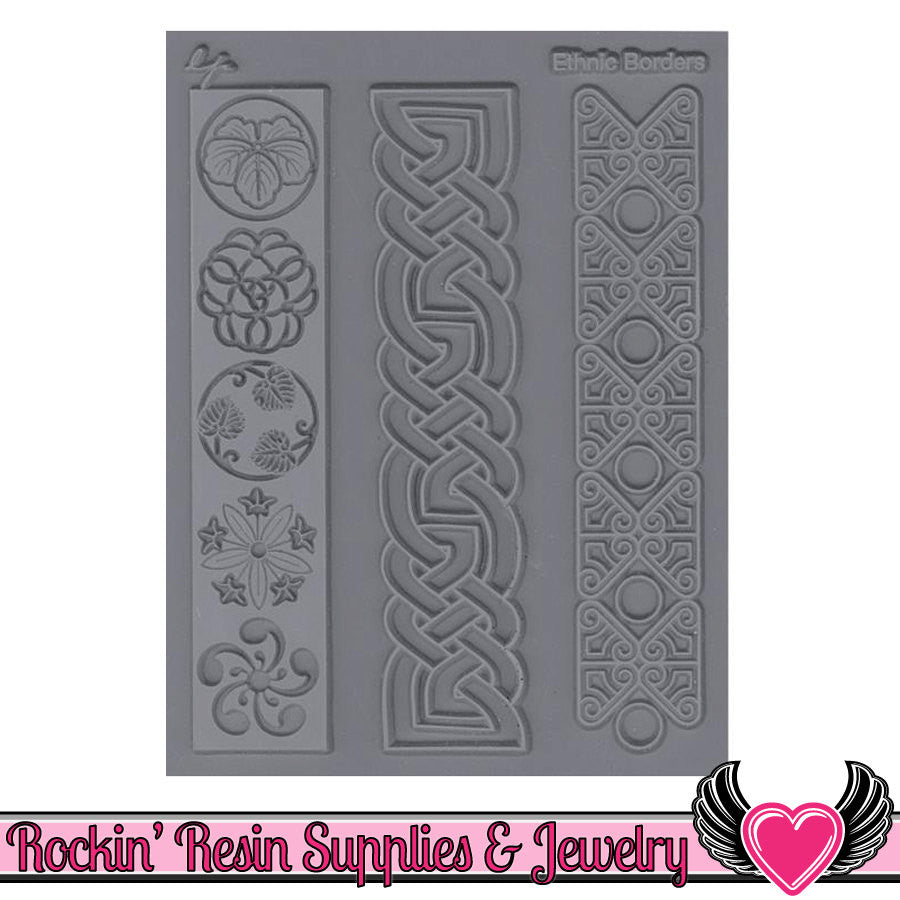 ETHNIC BORDERS Lisa Pavelka Texture Stamp