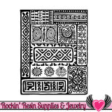 ANCIENT DOODLES Lisa Pavelka Texture Stamp - Rockin Resin  - 2