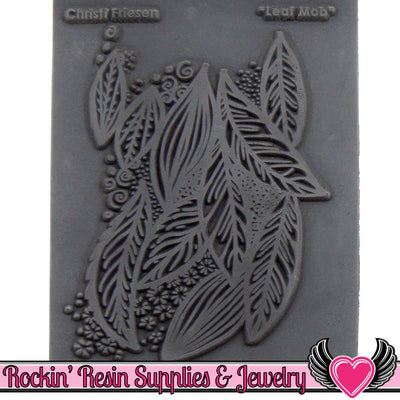 LEAF MOB Christi Friesen Image Texture Stamp - Rockin Resin