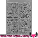 About Face Lisa Pavelka Texture Stamp - Rockin Resin