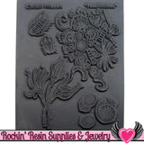 FOSSILICIOUS Christi Friesen Image Texture Stamp - Rockin Resin
