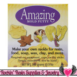 Silicone AMAZING MOLD PUTTY 2/3 pound, food grade - Rockin Resin  - 2