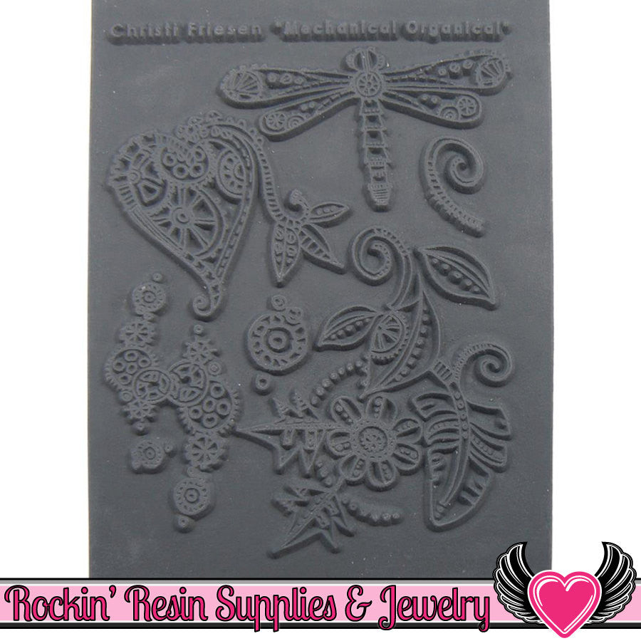 MECHANICAL ORGANICAL Christi Friesen Image Texture Stamp