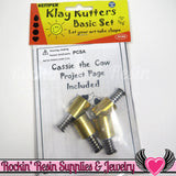 Kemper Klay Kutters 5/8 inch Cutter Set (heart, teardrop, flower & circle) PCSA - Rockin Resin  - 1