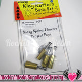 Kemper Klay Kutters 7/16 inch Cutter Set (heart, teardrop, flower & circle) PCS2 - Rockin Resin  - 1