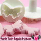 3 pc BUTTERFLY Embossing Plunger Cutters - Rockin Resin  - 3