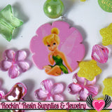 DISNEY TINK Tinkerbell Pendant and Acrylic Beads Necklace Kit - Rockin Resin  - 2