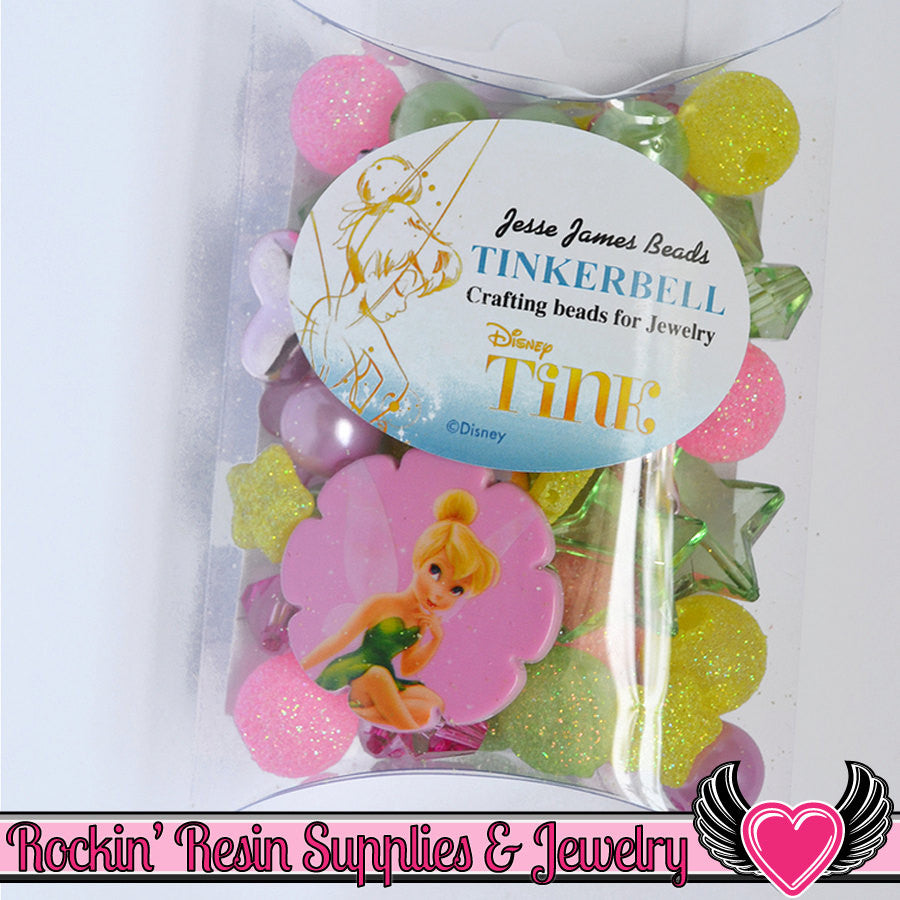 DISNEY TINK Tinkerbell Pendant and Acrylic Beads Necklace Kit