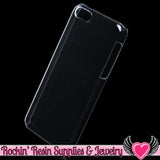 Apple Iphone 5c Clear Shell Cellphone Case for Decoden - Rockin Resin