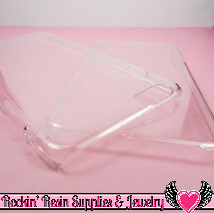 Apple Iphone 6 Plus Clear Shell Cellphone Case for Decoden - Rockin Resin  - 1