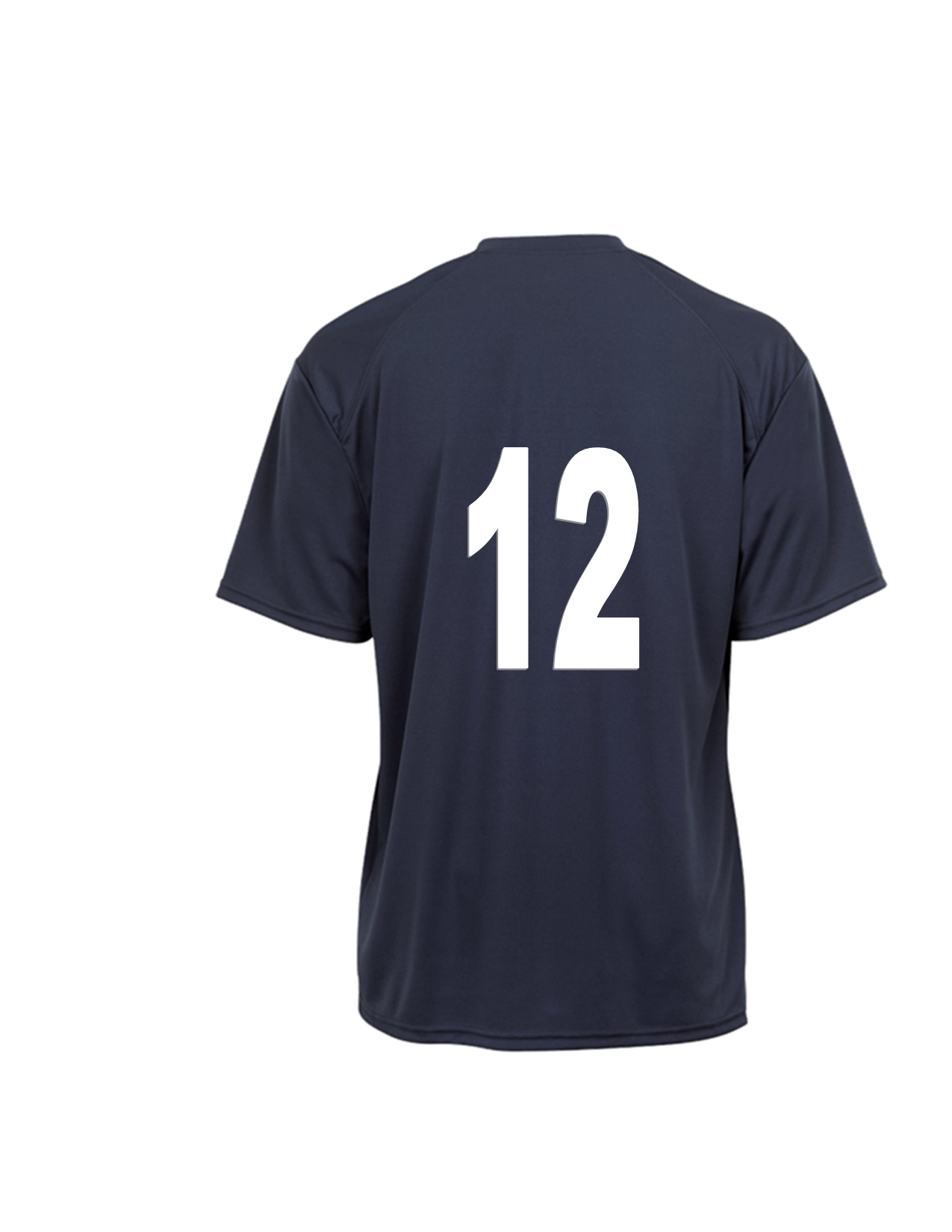 C2 TEE WITH PLAYER NUMBER ON BACK